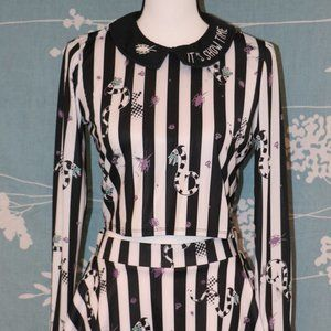 Fun 'Beetlejuice' Set from Hot Topic Skater M